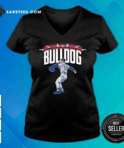Top Orel Hershiser The Bulldog Great 55 Top Orel Hershiser The Bulldog Great 55 V-neck