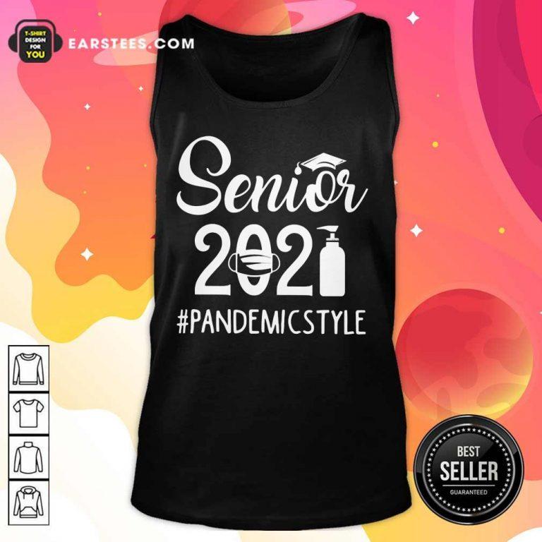Top Seniors 2021 Pandemic Tank Top