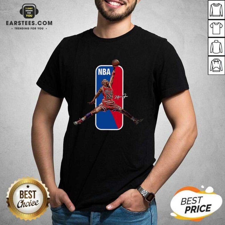 Vip 23 Michael Jordan Relaxed NBA Shirt