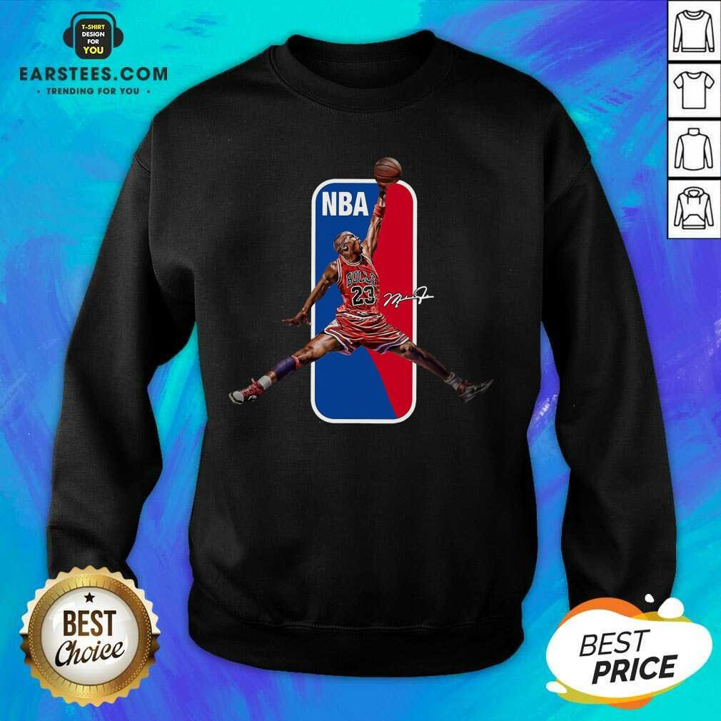 Vip 23 Michael Jordan Relaxed NBA Sweatshirt