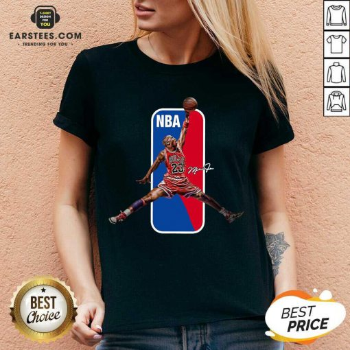 Vip 23 Michael Jordan Relaxed NBA V-neck