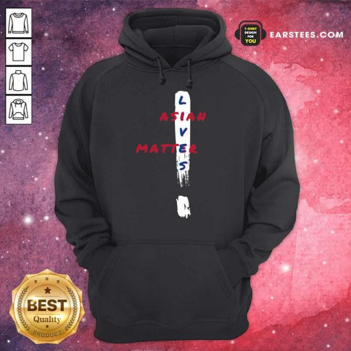 Vip Asian Lives Matter Exclamation Mark Hoodie