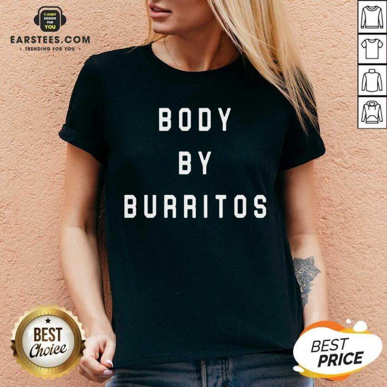 Vip Body By Burritos Surprised 752 V-neck