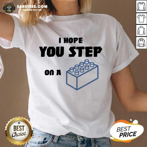 Vip I Hope You Step On A Lego Excited V-neck
