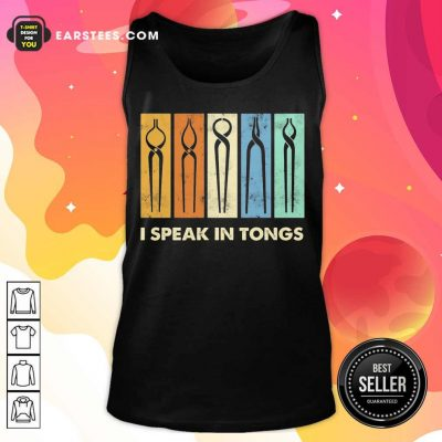 Vip I Speak In Tongs Vintage Terrific 2 Tank Top