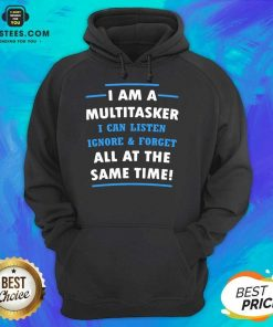 Vip Multitasker Same Time Amused 6 Hoodie