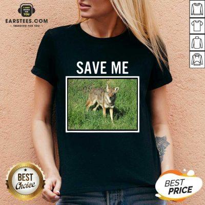 Vip Save Me Wild Dog Diego California V-neck