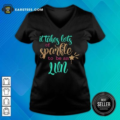 Awesome It Takes Lots Of Sparkle To Be An LVN V-Neck