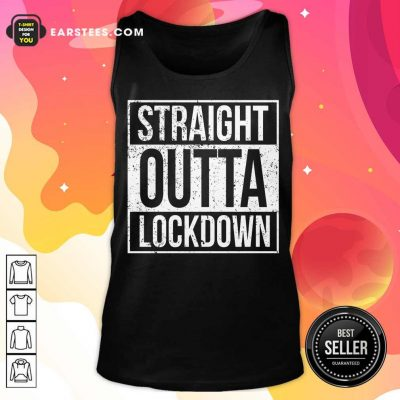 Awesome Straight Outta Lockdown Tank Top