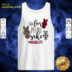 Excellent Rabbit Oh For The Sake Of Nana Life Tank Top