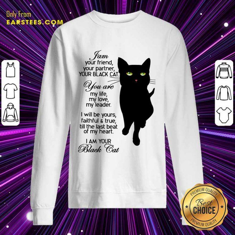 Fantastic I Am Your Black Cat Sweatshirt