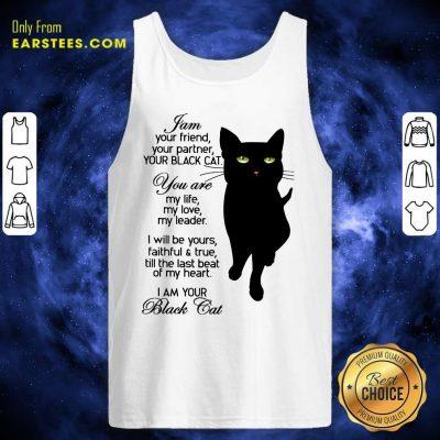 Fantastic I Am Your Black Cat Tank Top