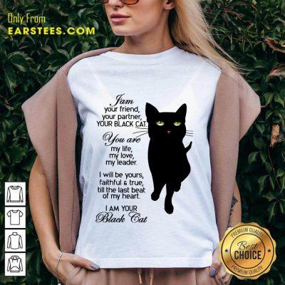 Fantastic I Am Your Black Cat V-neck