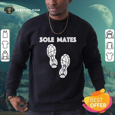 Funny Sole Mates Running And Jogging Sweatshirt