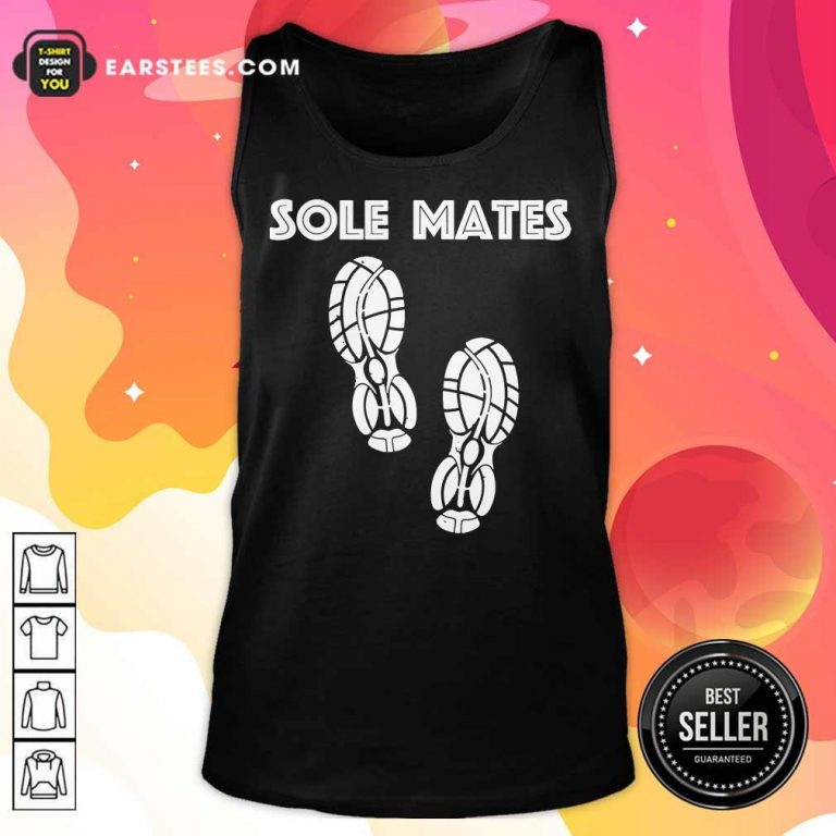 Funny Sole Mates Running And Jogging Tank Top