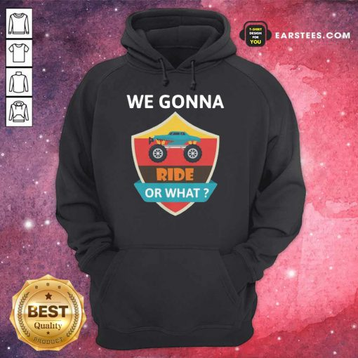 Funny We Gonna Ride Or What Funny Off Road Hoodie