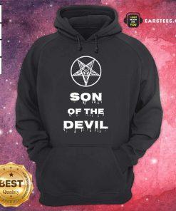 Good Inverted Pentagram Son Of The Devil Hoodie