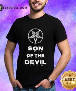 Good Inverted Pentagram Son Of The Devil Shirt