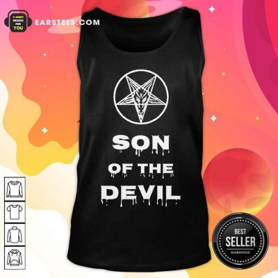 Good Inverted Pentagram Son Of The Devil Tank Top