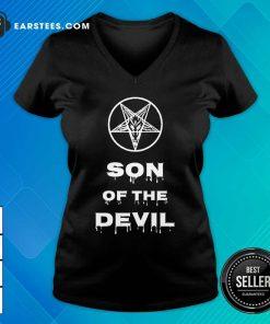 Good Inverted Pentagram Son Of The Devil V-neck