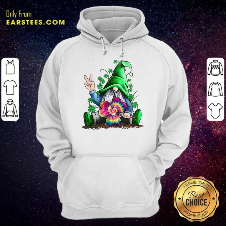 Happy St Patricks Day Hippie Gnome Hoodie