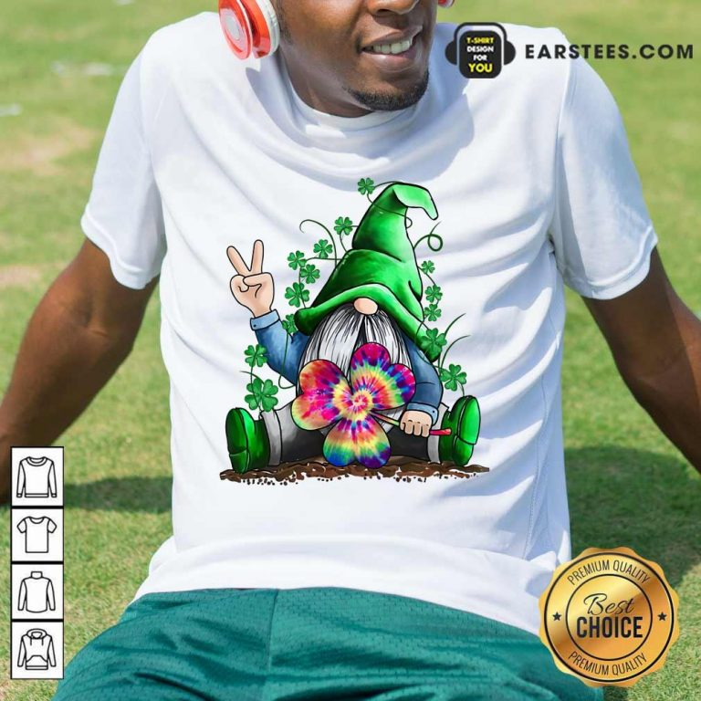 Happy St Patricks Day Hippie Gnome Shirt