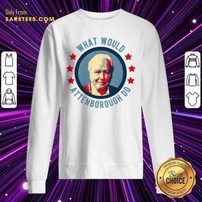 Original What Would Attenborough Do Sweatshirt