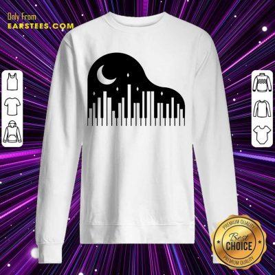 Perfect Piano And Night City Sweatshirt