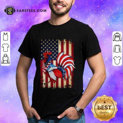 Premium Chicken Flag American Shirt