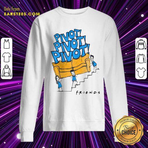 Premium Friends Tv Show Pivot Sweatshirt