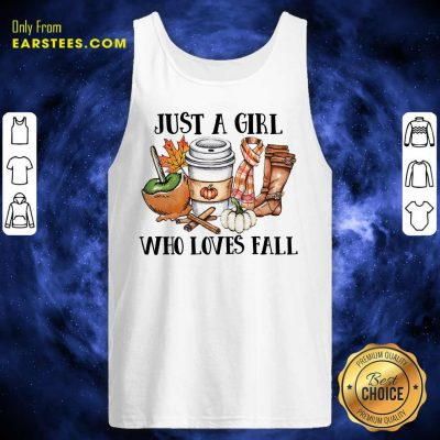 Premium Just A Girl Worker Who Loves Fall Tank Top