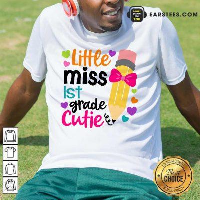 Pretty Little Miss 1st Grade Cutie Shirt