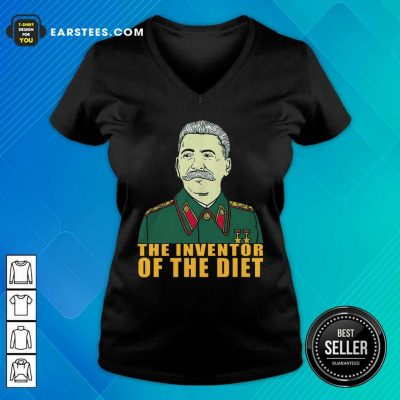 Pretty Stalin Around The Inventor Of The Diet V-neck