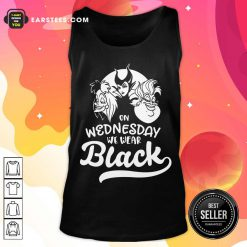 Top Maleficent On Wednesday We Wear Black Tank Top
