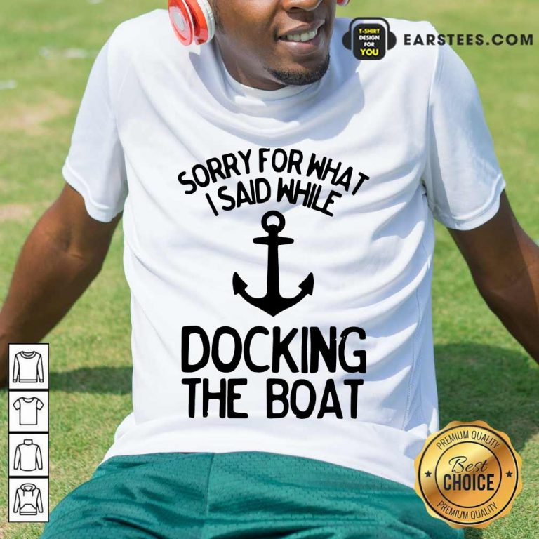 Top Docking The Boat Anchor Shirt