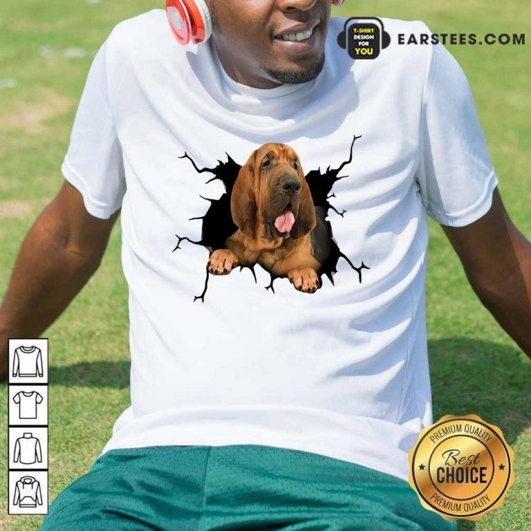 Top I Love Bloodhound Shirt