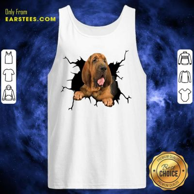 Top I Love Bloodhound Tank Top