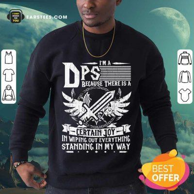Top I'm A DPS Sweatshirt