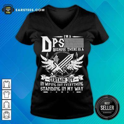 Top I'm A DPS V-Neck