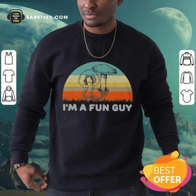 Top I'm A Fun Guy Vintage Sweatshirt