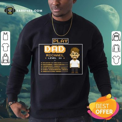 Top Playing Game Father Character Customize Sweatshirt