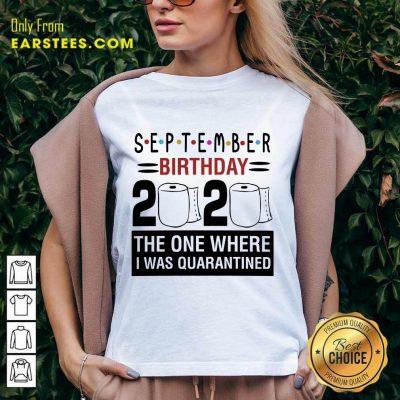 Top September Birthday 2020 V-Neck