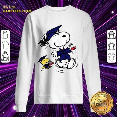 Top Snoopy And Graduation Sweatshirt