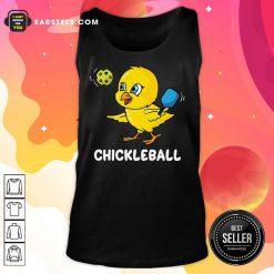 Chicken Chickleball Tank Top