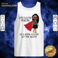 Girl Super Assistant Principal Tank Top