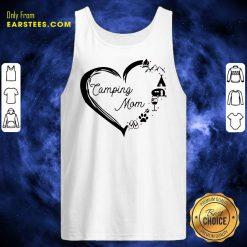 Heart Camping Mom Tank Top