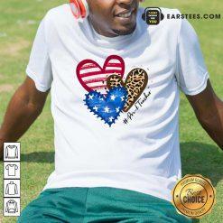 Heart USA Leopard Pre-k Teacher Shirt