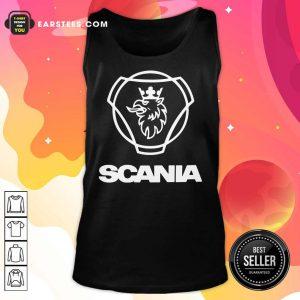Hot Logo Scania Tank Top