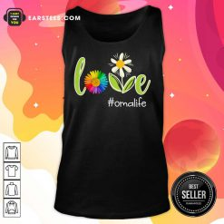Love Oma Life Flower Artistry Tank Top