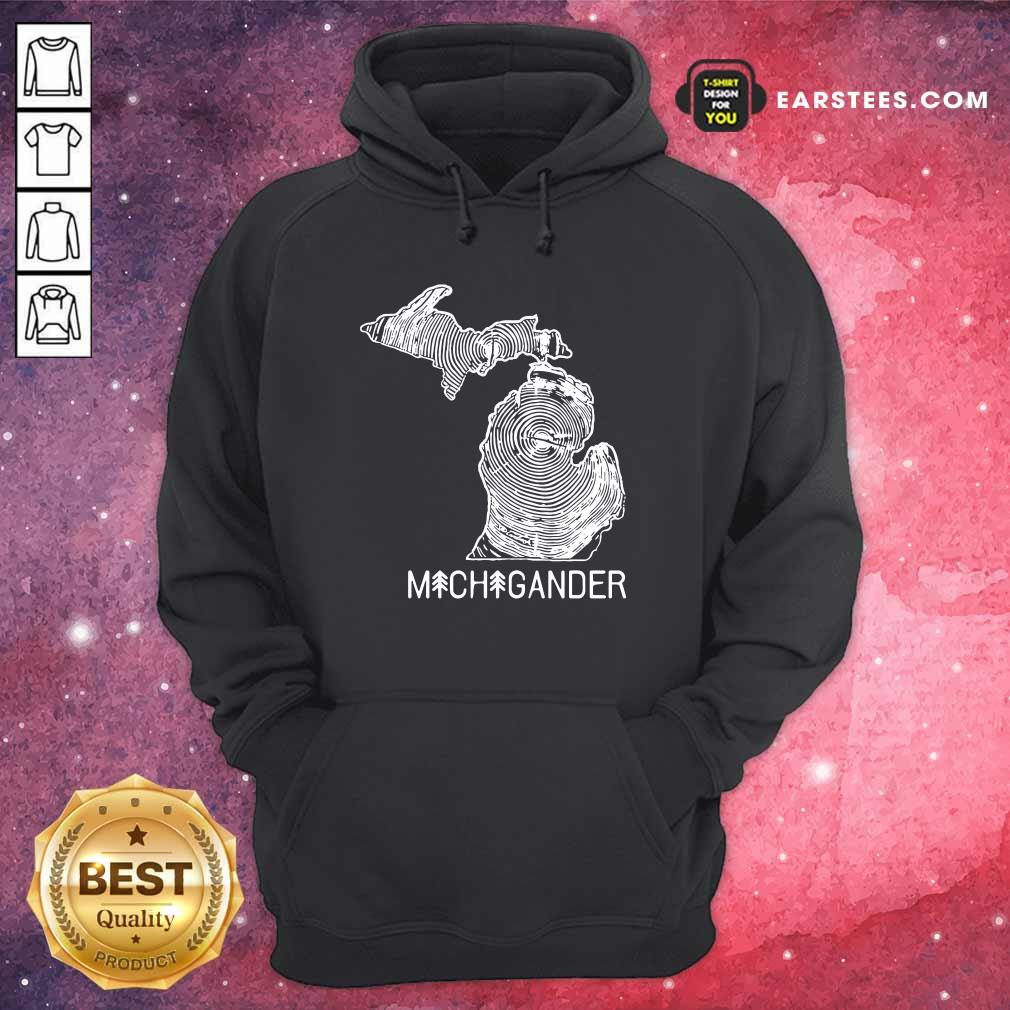 Michigander To The Core Hoodie